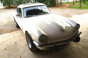 Triumph GT6 1972 manual with overdrive