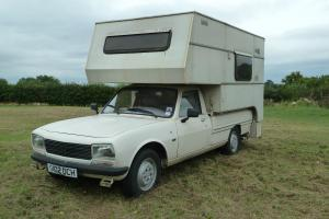 PEUGEOT 504 PICK UP WITH DEMOUNTABLE CLASSIC CAMPER