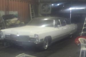 Cadillac V8 American Muscle CAR OLD School 1968 RAT ROD Limo Turbo 400 in Mount Kuring-Gai, NSW