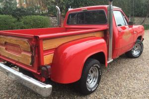 Dodge Lil' Red Express 1979 Mopar engine Side step truck, pick up