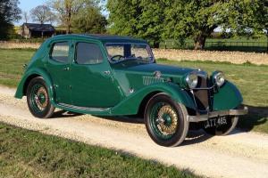 1935 Riley 12/4 Kestrel Sprite 4 Light Saloon