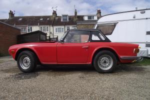 1973 Triumph TR6 Red