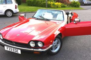 JAGUAR XJS CONVERTIBLE V12 TWR SIGNAL RED