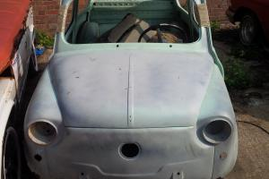 2 X Fiat 600 sedan LHD from portugal to be restored