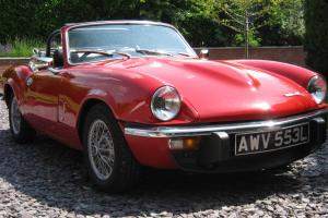 Triumph Spitfire Mk4 Tax Exempt - Moss Sports Suspension - SS Manifold Exhaust Photo