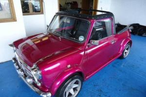 Classic 1987 convertable mini