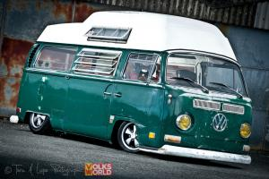 Ultra Rare1970 Volkswagen Deluxe Baywindow Camper with air suspension