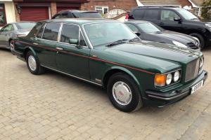 1991 Bentley Red Label Turbo R, Brooklands Green/Cream **43k** BTR Plate Inc Photo