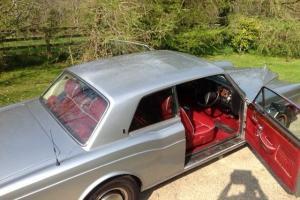 1979 Rolls Royce Corniche Fixed Head Coupe Photo