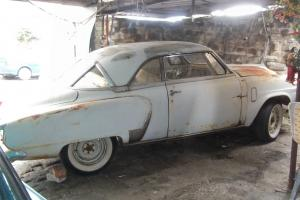 Studebaker Commander Coupe 1952 needs total restoration perfect hotrod base Photo