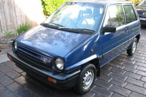Honda City 3D 1984 PRO T VAN 5 SP Manual 1 2L Carb in Ringwood East, VIC for Sale