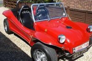 Beach Buggy 1971 1600cc VW tax exmpted full MOT