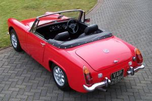 MG MIDGET RED EXCELLENT CONDITION