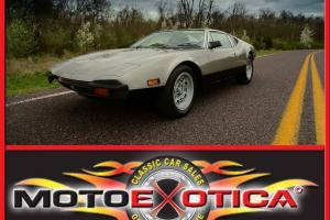 1972 DETOMASO PANTERA-42,000 ACTUAL MILES-FRESH PAINT-FRESH ENGINE REBUILD!!!!