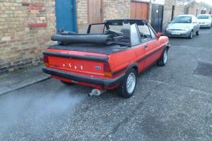 Mk1 fiesta xr2 fly convertible car