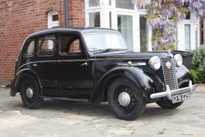 1946 Austin 10 rare with sliding hood. Fantastic condition
