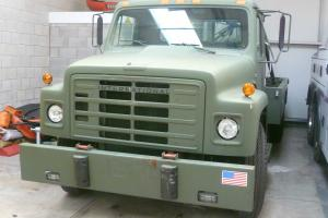 International S1700 Wrecker Twin Boom Diesel ex US Army twin 5 ton winches