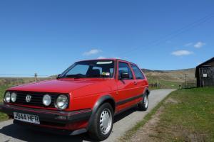 Volkswagen Golf Mk2 Driver 1.6 Low mileage