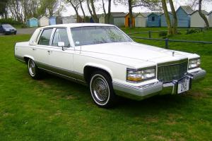 Immaculate Cadillac Brougham just 46,600 miles Perfect Wedding Car Photo