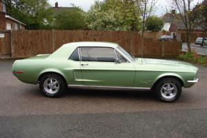 1968 Ford Mustang 289 Auto Coupe