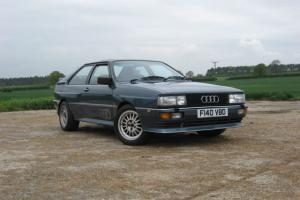AUDI QUATTRO UR MB 10V RESTORED STUNNING APPRECIATING CLASSIC.