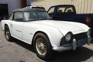 1962 Triumph TR4 Base TRUE CALIFORNIA BARN FIND