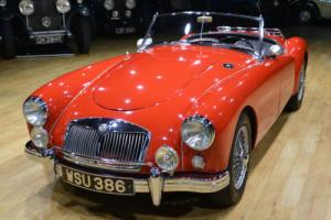 1958 MGA Roadster fully restored Left hand drive