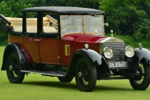 1927 Rolls Royce 20hp Park Ward Landaulette. Photo