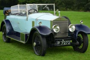 1929 Rolls Royce 20hp Barker Style Tourer.