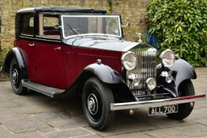 1933 Rolls Royce 20/25 Thrupp & Maberly Sedanca. Photo
