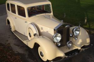 1937 Rolls Royce 25/30 Hooper Limousine with £110K restoration. Photo