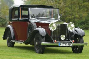 1933 Rolls Royce 20/25 H.J. Mulliner Sedanca.