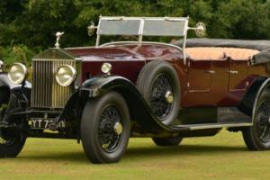 1927 Rolls Royce Phantom 1 Dual Cowl Tourer. Photo