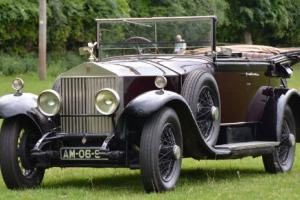 1926 Rolls-Royce Phantom 1 Barker Salamanca Photo