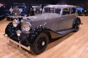 1935 Derby Bentley 3 1/2 litre Aluminium Park Ward Photo