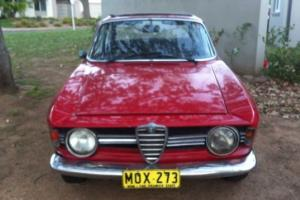 Rare Classic Alfa GT Veloce 1968 Guilia Sprint Worth A Fortune When Restored