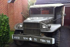 1943 Dodge WC51 ww2 military vehicle