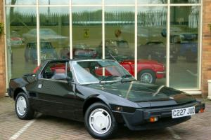 Fiat X1/9 Only 44,000 Miles From New. Full Service History With 17 Stamps
