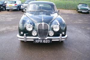 1961 JAGUAR MK2. 3.8 LITRE. MANUAL OVERDRIVE. BRG. COOMBS EVOCATION..