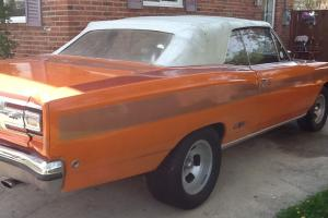 REAL NUMBERS MATCHING GTX CONVERTIBLE (NOT A CLONE)