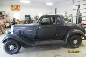 Plymouth Coupe with Rumble Seat
