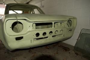 Rally prepared Ford Escort Mk1 body shell