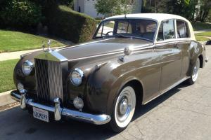 1958 Rolls Royce Silver Cloud California Car