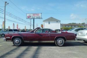 1985 Cadillac Eldorado convertible Low Miles Garaged