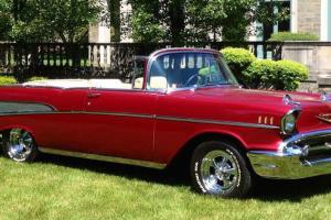 57 Chevy Bel Air Convertible Custom Beautiful