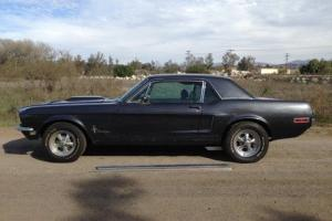 68 MUSTANG COUPE RUSTFREE CALIFORNIA CAR