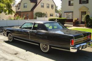 1977 Lincoln Town Coupe, All Original, Rare Color Combination