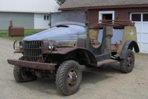 G505 WWII Dodge WC 1/2 Ton Military truck