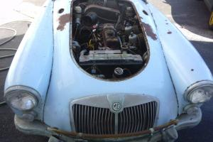 MG A ROADSTER barn find great for restoration