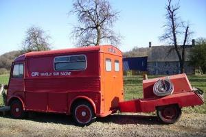 "Citroen HY Van ""Pompier"" complete with trailer hoses and diesel pump"